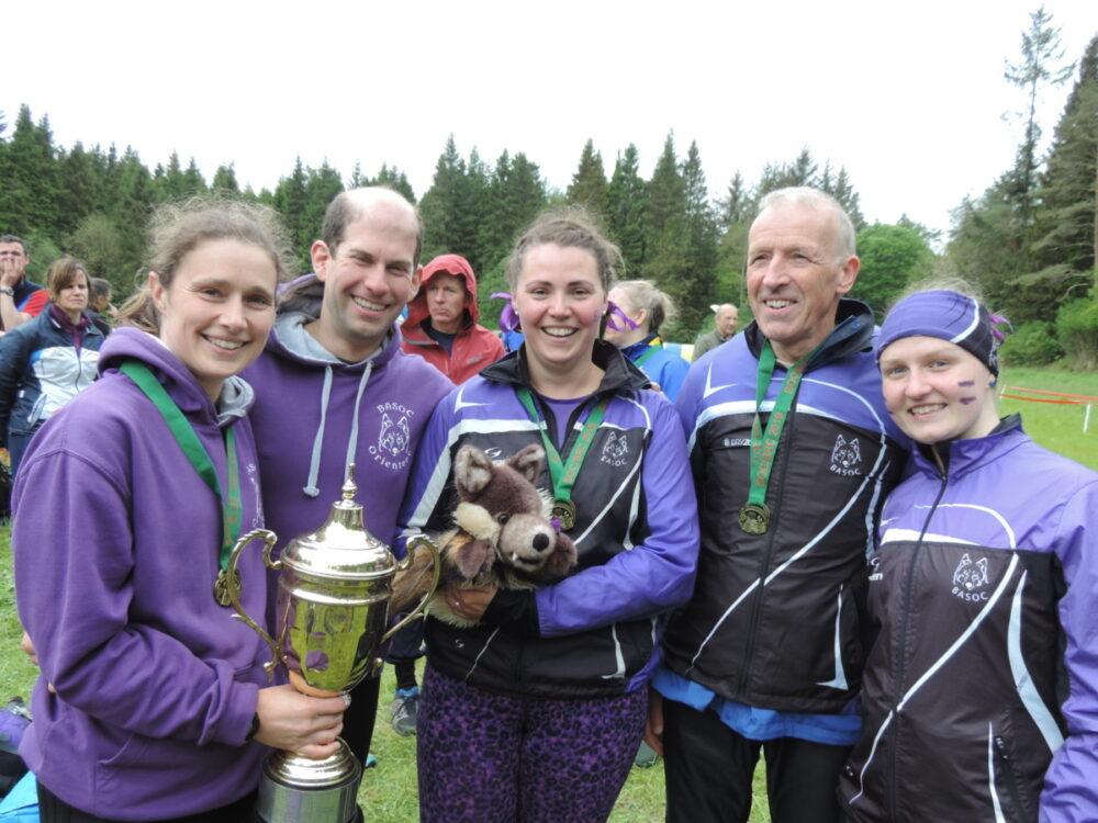 BASOC relay runners