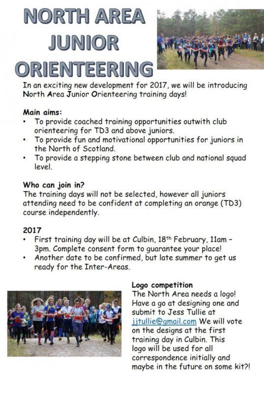North Area Junior Orienteering