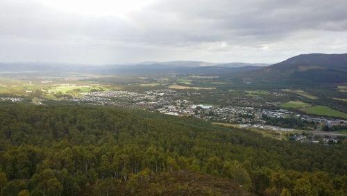 Craigellachie View East Over Aviemore