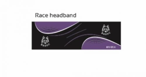 Race headband
