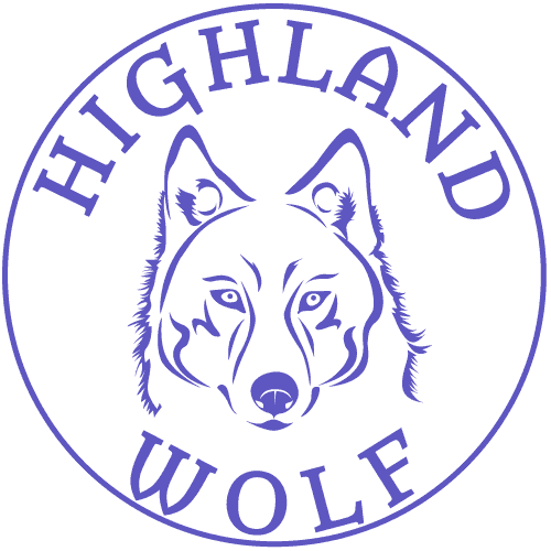Highland Wolf Logo
