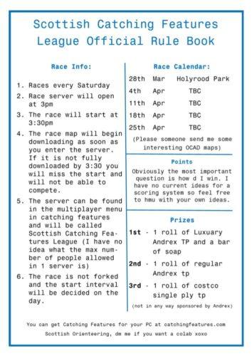 SOCFL Rules
