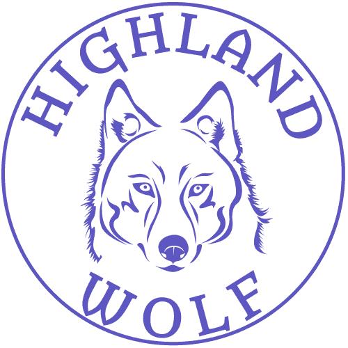 Highland Wolf Logo 500