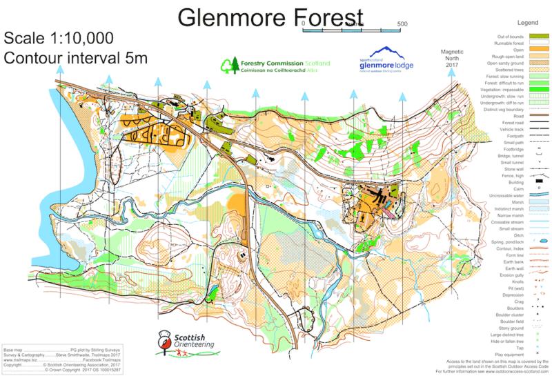 Glenmore map