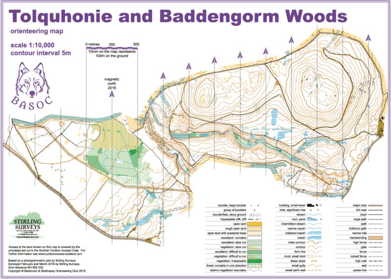 Tolquhonie Map