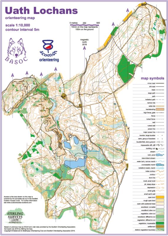 Uath Lochans Map