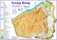 Creag Beag Map
