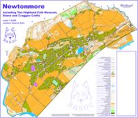 Newtonmore Map